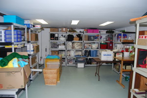 "Can't image how to sort through it all.  And this is just one of the ""storage"" rooms in the house!"