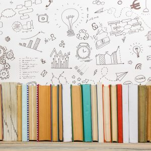 photo of various journals for creating structure in your retirement days