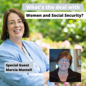 Photo of Marcia Mantell and Linda Hannon from Social Security and women videocast