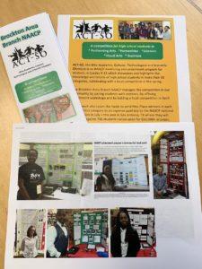 Volunteering in retirement. ACT-SO brochure and photos.