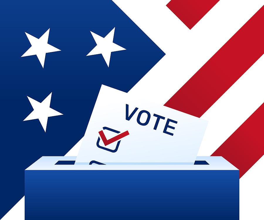 Making a plan to vote ballot box image