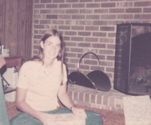 Photo of Marcia Mantell at age 14 in Danville VA
