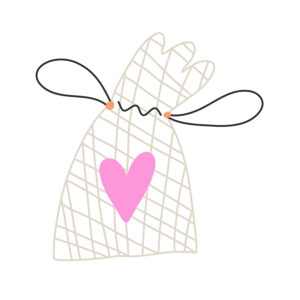 reusable clear baggie illustration for your hospital grab & go kit
