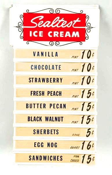 List of ice cream costs for national ice cream month